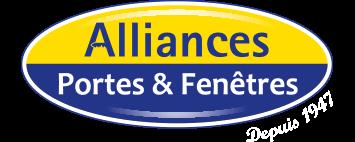 Alliances portes et fenêtres Logo